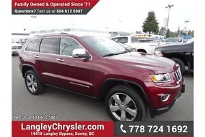 2016 Jeep Grand Cherokee Limited w/ Leather Interior & Sunroof