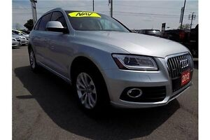 2013 Audi Q5 2.0T PREMIUM AWD | NAV, SUNROOF, LEATHER