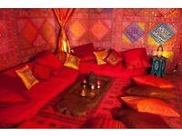 Moroccan design plastic rugs