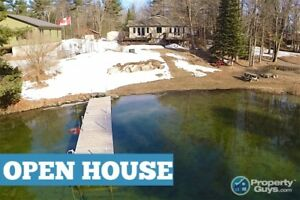 Waterfront Home, Captivating View, 100 Ft. Waterfront