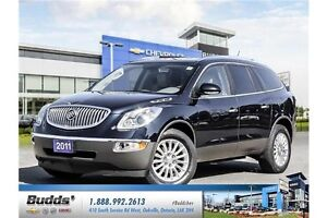 2011 Buick Enclave CXL Safety and E-Tested