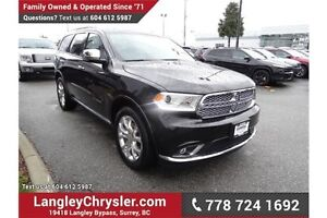 2016 Dodge Durango Citadel W/ BLUETOOTH & REVERSE CAMERA