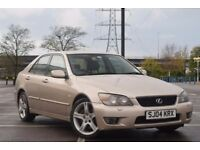 07405092170- 04 LEXUS IS200 SE EXCELLENT SPEC FULLY LOADED, *MUST VIEW DRIVES LIKE NEW* £1250.00