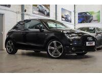 Audi A1 2.0 TDI 143ps Black Edition, 13 Reg, 57k, Black, Half Leather, BOSE, Etc
