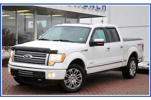 2011 Ford F-150 Platinum/LEATHER/4X4/PWR RUNNING BDS/HEAT&COO... Kitchener / Waterloo Kitchener Area image 2