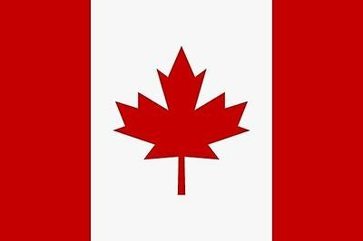 Aufkleber Kanada Flagge Fahne 12 x 8 cm Autoaufkleber Sticker (Autofahne Kanada)