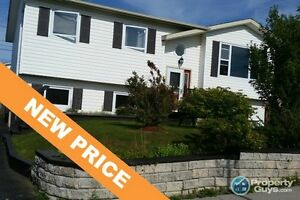 NEW PRICE! Lovely 5 bed/2 bath family home with several updates