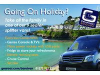 Self Drive 9 Seat Premium Mini Bus MPV People Carrier Car Hire Luxury Holiday Rental Van Brighton