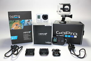 GoPro Hero3+ Black Edition, LCD Touch BacPac, accessories