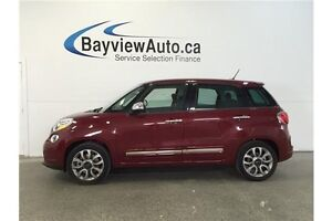 2015 Fiat 500L LOUNGE- TURBO! SUNROOF! LEATHER! NAV! U-CONNECT! Belleville Belleville Area image 1