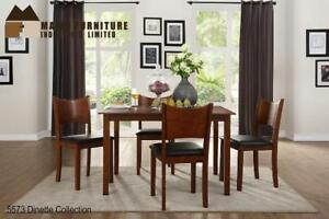 Dinette featuring curved back chair- Web only Sale (MA287)