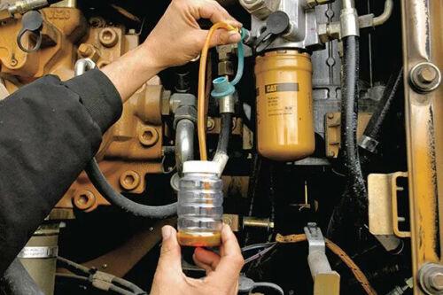 Gregory Poole Equipment Company SOS Fluid Analysis Test Kit Oil Sample Kit