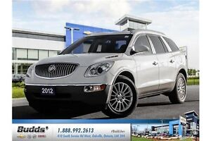 2012 Buick Enclave CXL Safety & E-Tested