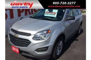 2016 Chevrolet Equinox LS AWD, BACK UP CAMERA, 4G WIFI