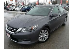 2013 HONDA ACCORD EX-L - LEATHER - SUNROOF - REARVIEW CAM