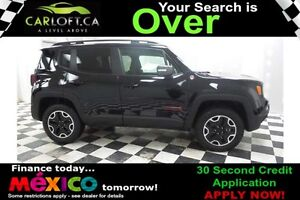 2016 Jeep Renegade TRAILHAWK 4X4 - LOW KMS**REMOTE START**NAV
