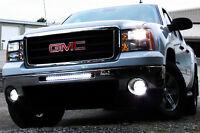 Off Road CREE LED Light Bars - Jeep JK TJ RAM 1500 Ford F-150