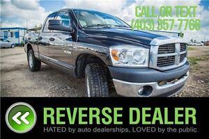 2008 Dodge Ram 1500 TRX-4 OFF-ROAD, TOW PACKAGE, 4X4, CLEAN **