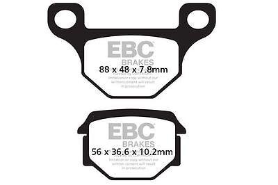 FIT AJP  PR4 200 Enduro 10>11 EBC Organic Pad Set Rear Right