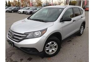 2014 HONDA CR-V LX - AUTOMATIC - CLOTH INTERIOR - BLUETOOTH