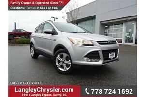 2013 Ford Escape SE ACCIDENT FREE w/ 4WD & NAVIGATION