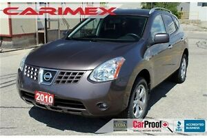 2010 Nissan Rogue SL | AWD | Sunroof | CERTIFIED