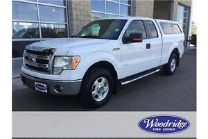 2014 Ford F-150 XLT ECOBOOST, TOW, BACKUP CAM, LONG BOX