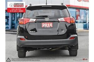 2014 Toyota RAV4 LE One Owner, No Accidents, Toyota Serviced London Ontario image 5