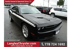 2015 Dodge Challenger SXT w/ Nappa Suede/Leather & Sunroof