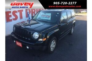 2013 Jeep Patriot Sport/North 4x4, MP3 INPUT, CRUISE CONTROL