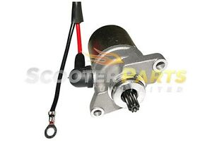 Motor-Electric-Starter-For-2-STROKE-49cc-Gas-Scooter-Moped-Bike-TNG-Venice-LS-SS