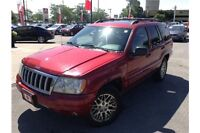 2004 JEEP GRAND CHEROKEE LIMITED - 4x4 - LEATHER - SUNROOF