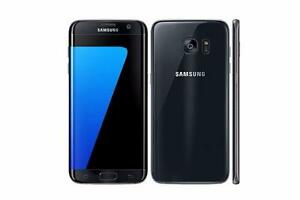 Samsung Galaxy s7 edge 32GB Black UNLOCKED ( including Freedom and Chatr ) MINT /w WARRANTY, case, charger $500 FIRM