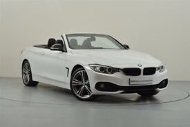 4 Series CONVERTIBLE 420d SPORT, 14 plate, 17k mileage, 1 owner, manual, fully serviced & TWO keys