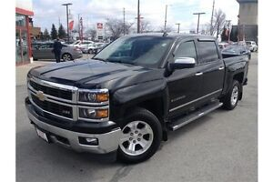 2014 CHEVROLET SILVERADO 1500 - LEATHER - REARVIEW CAMERA