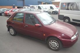 FOR SALE MY FORD FIESTA 1.2 5 DOOR ONLY 68.000 MILES IDEAL FIRST CAR MUST BE SEEN !!!!!!