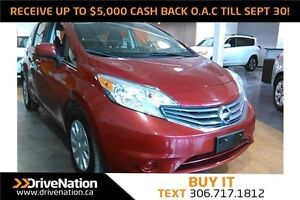 2014 Nissan Versa Note 1.6 SV FUN & SPORTY HATCHBACK! LOW KM!