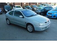 Renault Megane Coupe 1.6 16v Only 45k Miles, FSH, one owner from new
