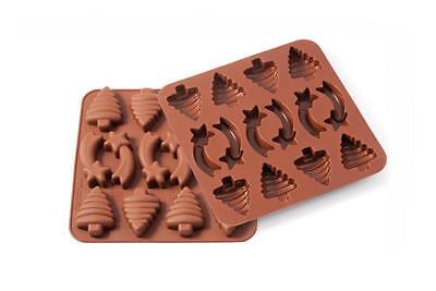 Stampo in silicone per Cioccolatini di Natale Xmas Decor SMO 01 Silikomart