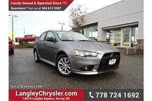 2015 Mitsubishi Lancer SE AWC W/ PADDLE SHIFTERS & HEATED SEATS