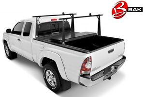 Tonneau cover with removable rack
