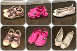 Girls Shoes size 12 and 13