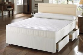 Brand New Double Ambassador Orthopedic Divan Bed Single Double Small double kingsize bed