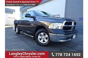 2016 RAM 1500 ST LOCALLY DRIVEN, ONE OWNER & ACCIDENT FREE