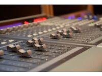 Music Production/Demo Recording/Voice Recording