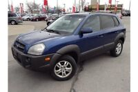2006 HYUNDAI TUCSON - SUNROOF - LEATHER INTERIOR - FOLD FLAT