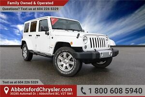 2014 Jeep Wrangler Unlimited Sahara Navigation and Bluetooth