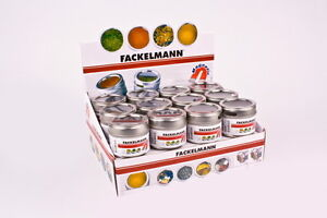 Spice Tins Magnetic  Keep common  spices ready to go on the fridge 4 tins