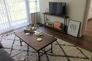 Industrial Coffee Table and TV Unit