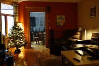 Room in GORGEOUS Plateau 7 1/2, next to Sherbrooke Metro